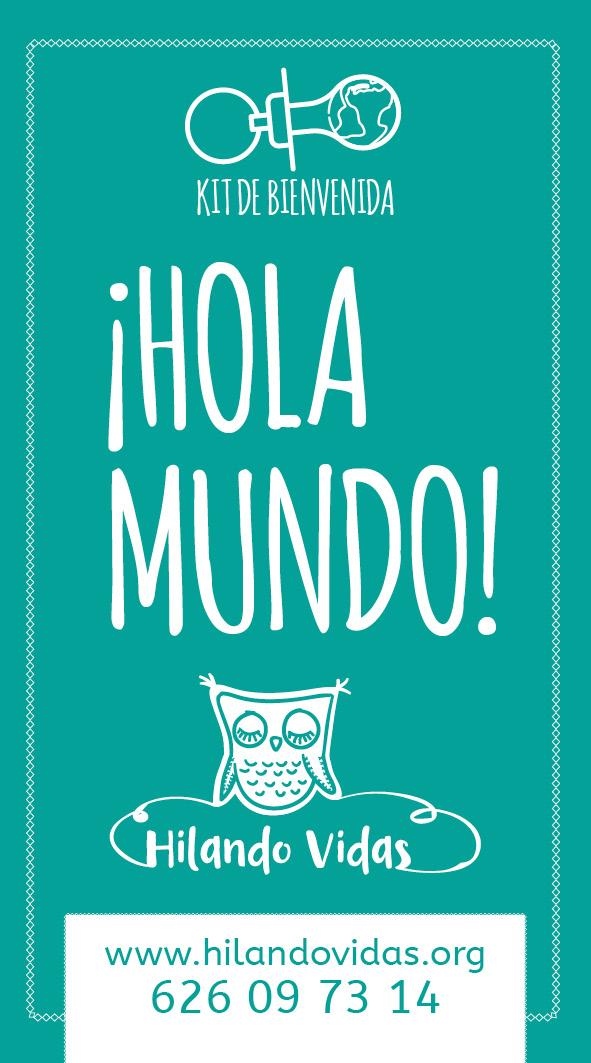 Hola Mundo - Etiqueta Kit de bienvenida